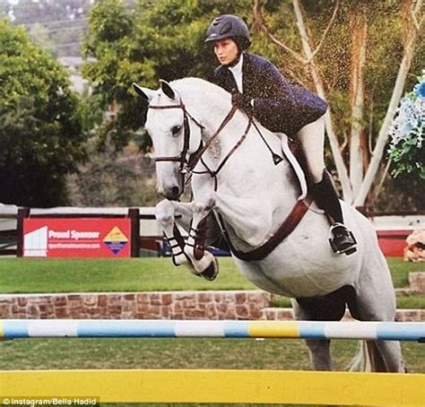 yolanda foster horse riding bella hadid on best friend gigi and buying farm daily