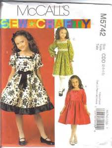 Sewing pattern little girls dress spring special occasion holiday