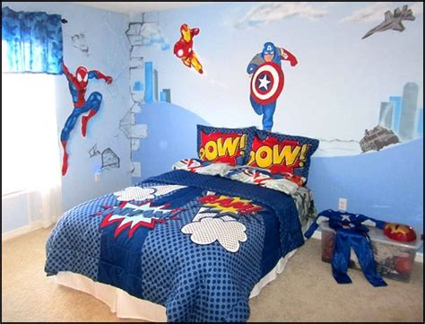 superhero bedroom decorations decorating theme bedrooms maries manor superheroes