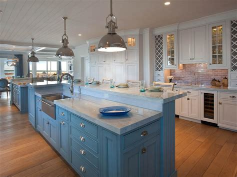coastal kitchen cabinets white coastal kitchen pictures by the serene seaside hgtv