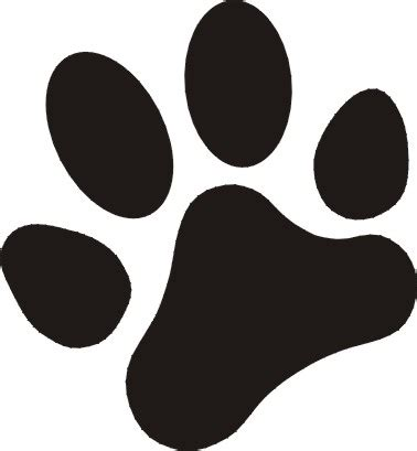 paw print image each paw print is approximately 2 inches square 85p per pair