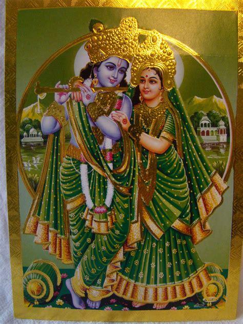 gold krishna wallpaper full colour krishna hindu god pictures gold foil decor