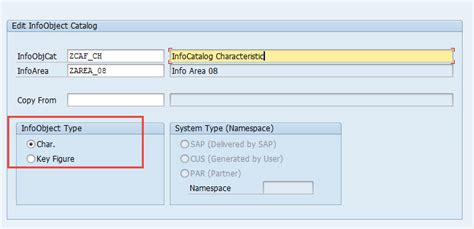 tutorial sap bw how to create infoobject in sap bw sap tutorial