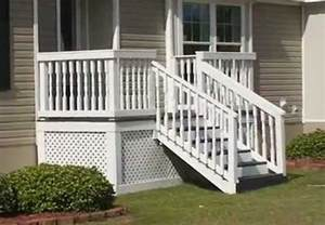 mobile home stairs for steps for mobile homes wood mobile homes ideas