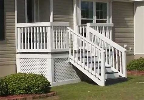 steps for mobile homes wood mobile homes ideas