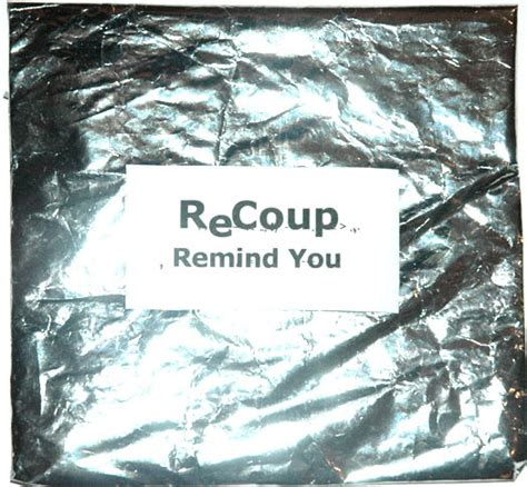Recoup Recycles Packaging For Ethical Track recoup remind you useyourears