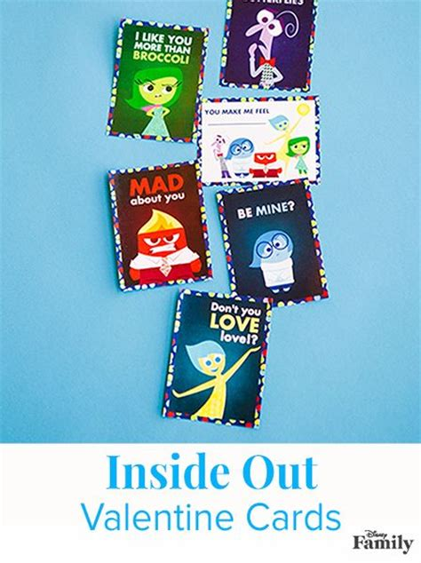 printable inside out bookmarks 17 best images about disney valentine s day on pinterest