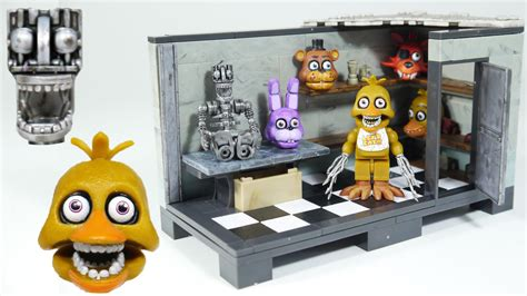 3 In 1 Toys Set fnaf backstage five nights at freddy s review