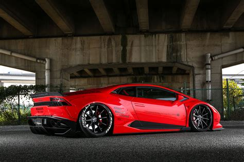Lamborghini Huracan Now Modified By Liberty Walk Drivers