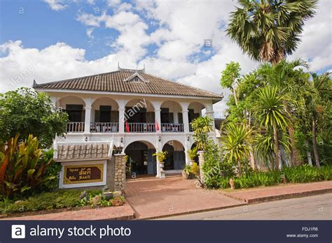 buy house in laos a colonial house in luang prabang laos stock photo royalty free image 94438938 alamy