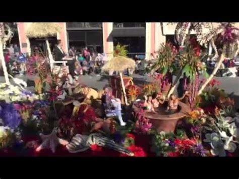 2016 rose bowl parade floats 2016 rose bowl parade the bachelor float youtube