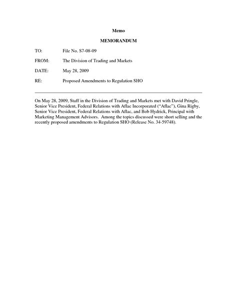 Memo Template Word 2011 mandatory staff meeting notification template pictures to