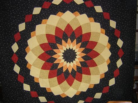 dahlia quilts on 74 pins