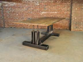 Post Industrial Conference Table Vintage Industrial Furniture » Home Design 2017