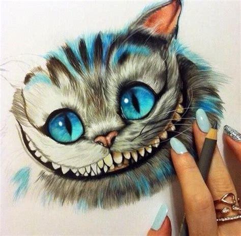 imagenes uñas gatos chester cat from alice in wonderland amazing quotes