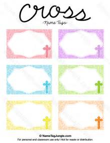 printable name templates free printable cross name tags the template can also be