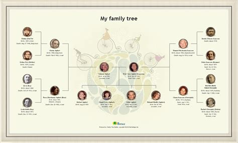 draw a family tree template media kit myheritage myheritage