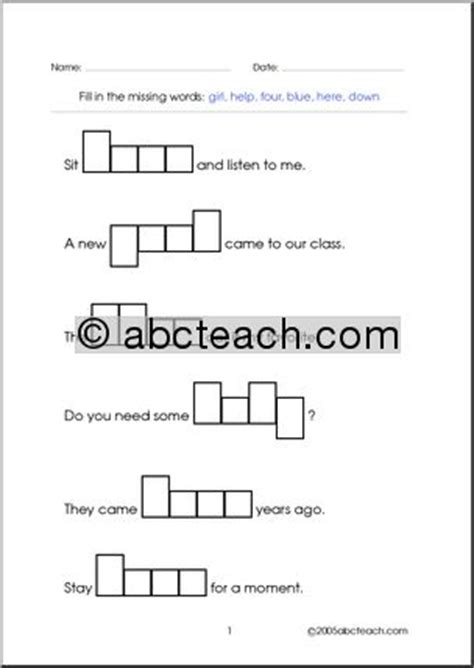 4 Letter Words Adjust worksheet word shapes 4 letter words set 9 abcteach