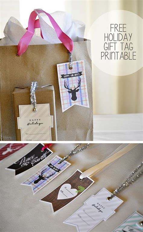 design inspiration gifts free printable holiday gift tags design och inspiration