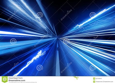 Fast Light Super Fast Light Beams Stock Photo Image 52104643