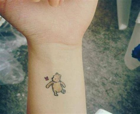 totally subtle disney tattoos winnie the pooh 21