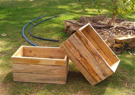 Recycled Planter Boxes by Pallets Diy Ideas To Decorate Your Home Wooden Pallet