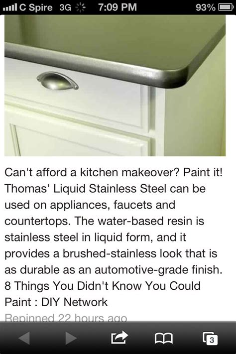 Liquid Stainless Steel Countertops by Stainless Steel Countertops Looks Like A Custom Finish