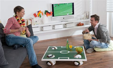 How To Make A Table Football Out Of Paper - world cup 2014 build a diy football coffee table