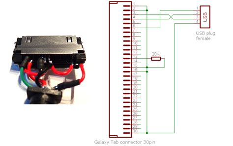 Konektor Charger Connector Charge Samsung Galaxy Tab P7500 P1000 samsung galaxy tab dock connector pinout diagram