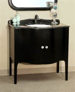 36 6 inch single sink apron front vanity by bellaterra