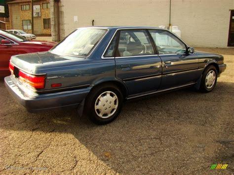 Awd Toyota Camry 1991 Blue Pearl Metallic Toyota Camry Le Awd Sedan