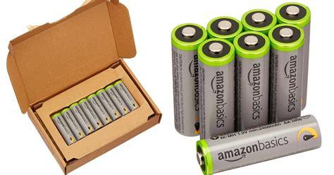 Batterie Amazonbasics by Amazonbasics Aa High Capacity Rechargeable Batteries 8