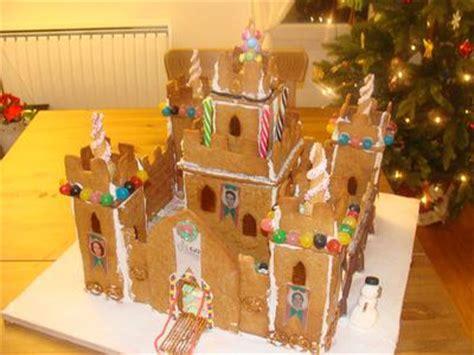 gingerbread castle template
