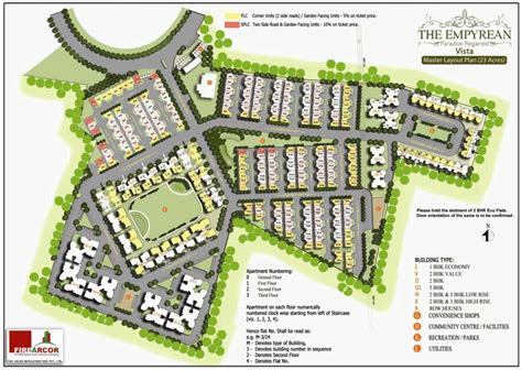 layout plan layout plan the empyrean at new nagpur fire arcor