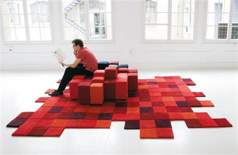 minecraft area rug modern floor decor ideas from nanimarquina colorful contemporary rugs