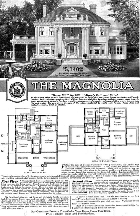 home design 1920s free home plans sears home plans