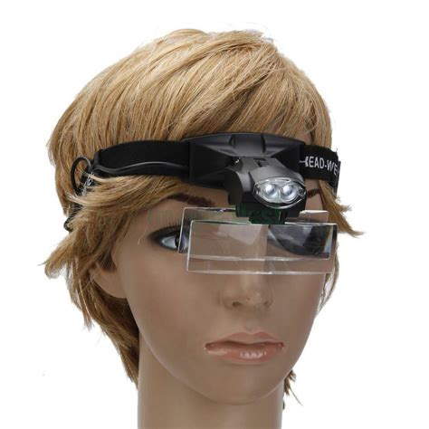 lens jewelry magnifying glass headband loupe magnifier