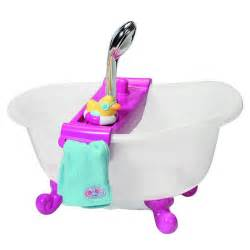 Baby Born Bath With Shower baby born interactive bathtub with accessories target