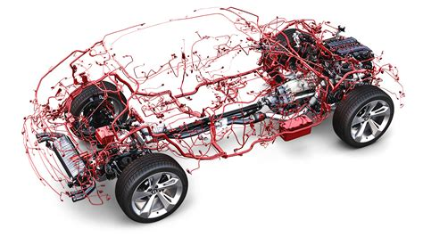 it takes a lot of wiring to keep a modern vehicle moving
