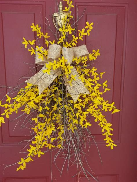 pictures of wreaths on doors google search debra s board forsythia wreath google search wreaths pinterest
