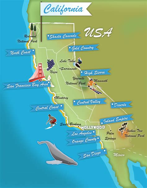 california landforms map geography of california insider s guide to the geography