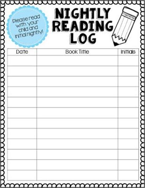 printable march reading log march reading log for kindergarten free printable