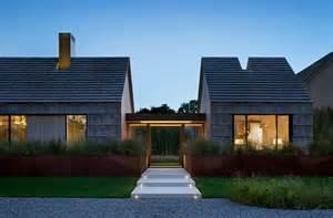 Contemporary Barn House by Gabled Potato Barns Inspire Modern East Hampton Family Home