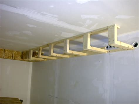 framing around ductwork fortikur
