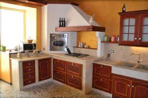 eccezionale Costruire Cucine In Muratura #1: cucine-in-muratura-prezzi-di-progettare-il-colore-bianco-colore-marrone-delle-pareti-della-cucina-e-piastrelle-di-cucina-fantasia.jpg