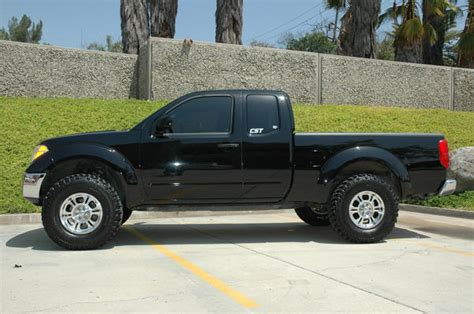 nissan frontier lift kit before and after cst performance suspension lift kits for nissan frontier