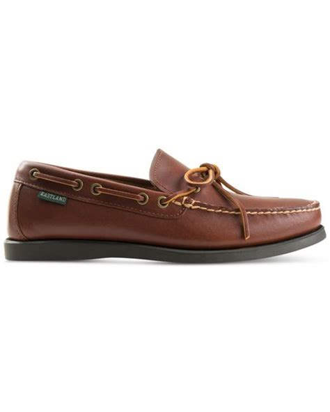 eastland loafer eastland shoe eastland yarmouth loafers in brown for