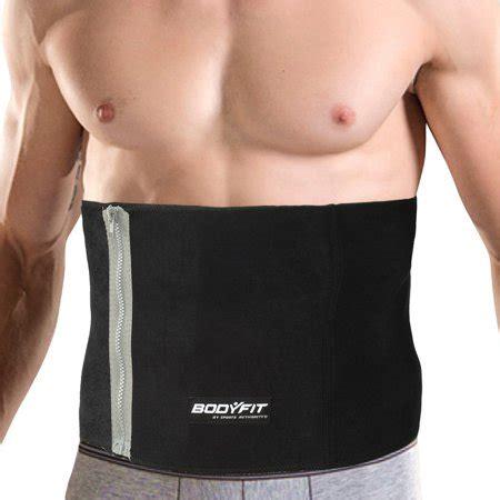 Sports Waist Trimmer Belt men s bodyfit waist trimmer abdominal shaper exercise belt