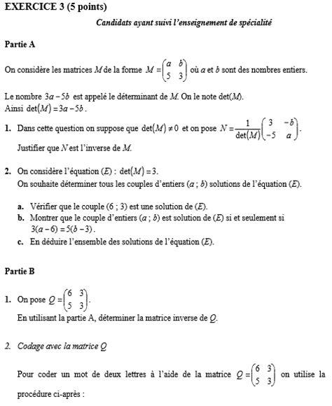 sujet corrig 233 maths bac s 2016 pondichery