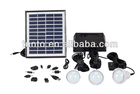solar light kits 4w mini solar light kits solar panel kit for home use